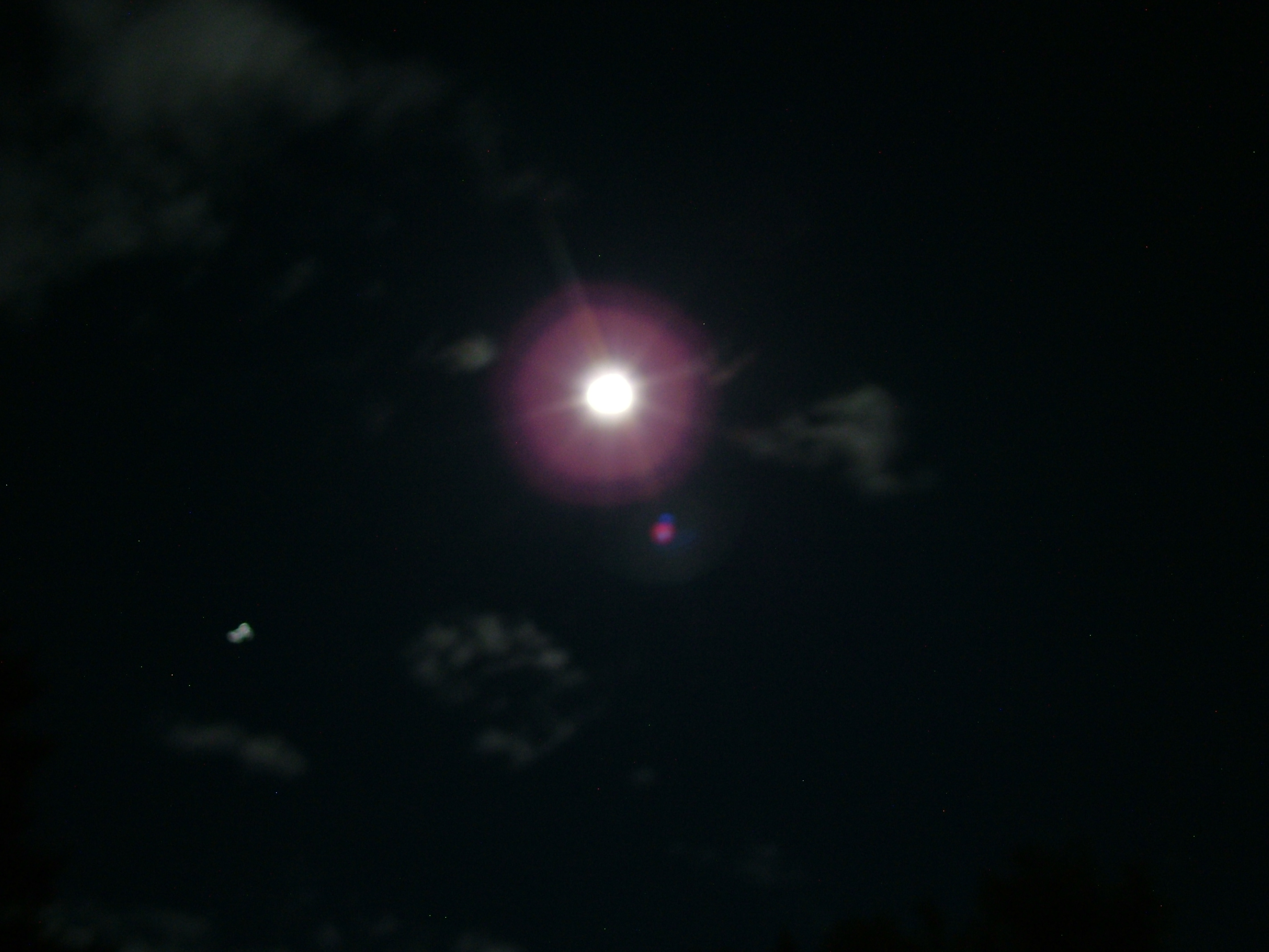 Moon and Jupiter 2011